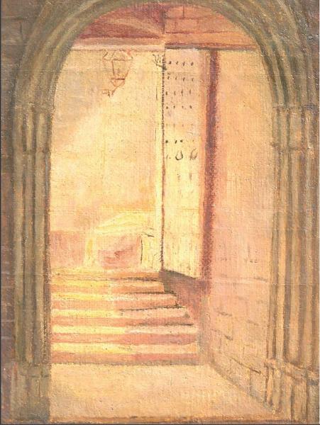Puerta sur Catedral de Barcelona