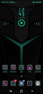 Black shark  3 realme theme indonesia