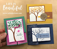 Stampin' Up! Life is Beautiful Card Kit  #stampinup Aug-Dec 2020 Mini Catalog ~ www.juliedavison.com