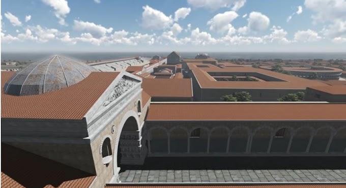 Το  συγκρότημα παλατιού του Γαλέριου. Θεσσαλονίκη. 4ος μ.Χ. αιώνας.