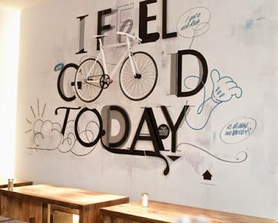 Kết quả hình ảnh cho vẽ tranh tường quan cafe
