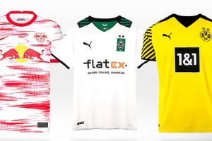 Uniformes dos clubes da Bundesliga 2021/22