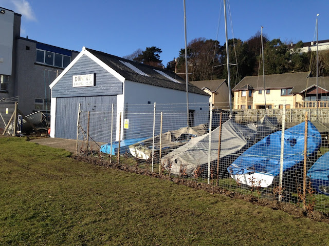 Dundee Sailing Club, Grassy Beach, Broughty Ferry Spring 2016