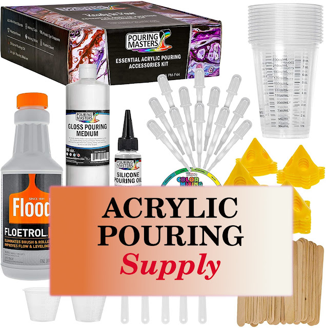 Acrylic Pouring Essentials and Supplies kit
