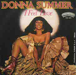 Donna Summer, I Feel Love - Cover for Original Single