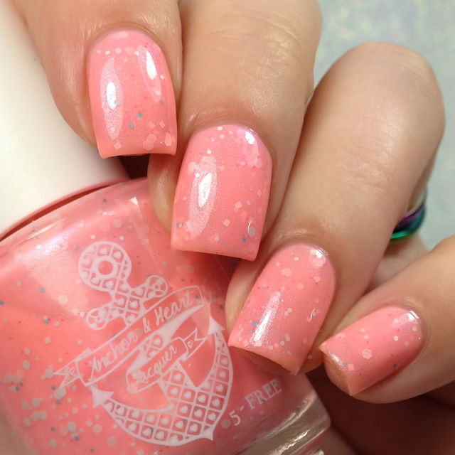 Anchor & Heart Lacquer-What a Wonderful World