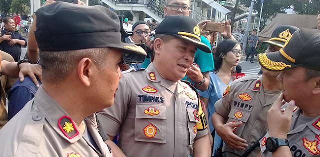 Demo Di Depan Gedung KPK Ricuh, Kapolres Jaksel: Belum Ada Yang Kita Amankan