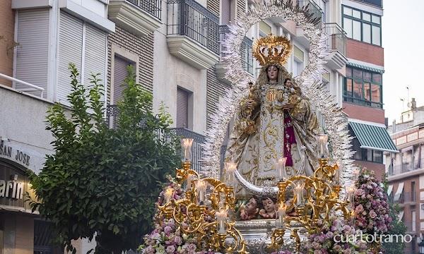 La Hermandad de los Judíos anuncia la suspensión de la salida procesional de la Virgen de la Merced de Huelva