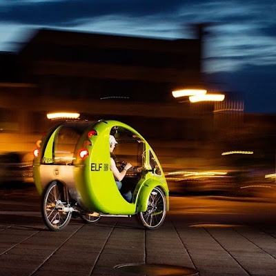 Elfsolo Solar Powered Bike