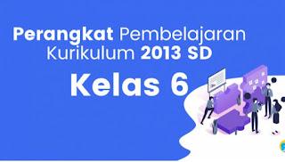 Download RPP 1 Lembar K13 Revisi 2020 Kelas 6 Semester 1