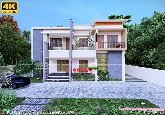 house remodeling model rendering