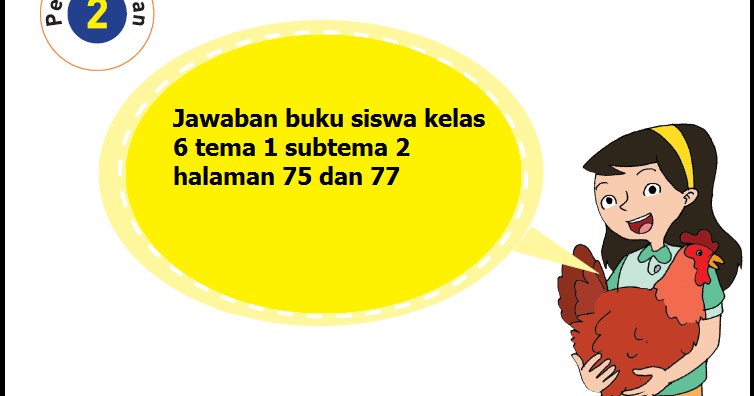 Kunci Jawaban Senang Belajar Matematika Kelas 6 Halaman 75 ...