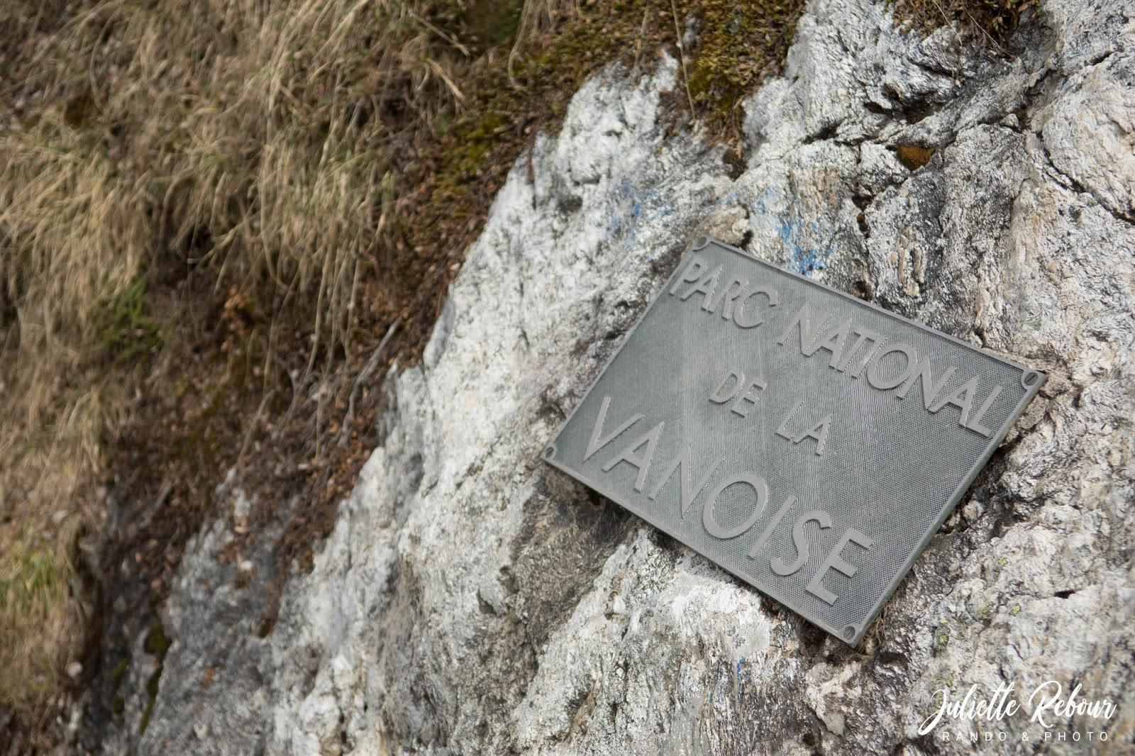 Panneau Parc National de la Vanoise