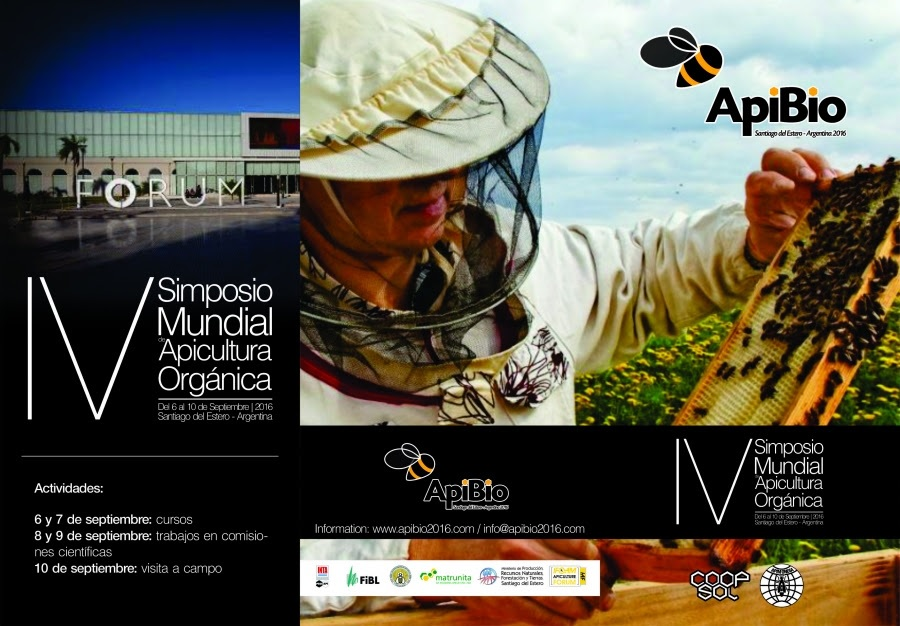 SIMPOSIO MUNDIAL DE APICULTURA ORGÁNICA - WORLD SYMPOSIUM ON ORGANIC BEEKEEPING.