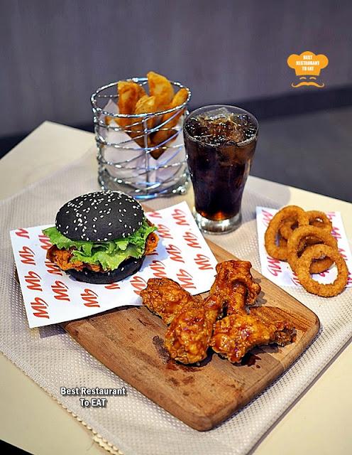 Marrybrown SOS BBQ Burger Combo New Menu