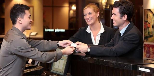 مطلوب موظفين استقبال فنادق للعمل بالحائل بالسعودية براتب 2500 ريال