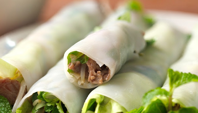 Rolled Noodles (Pho Cuon)