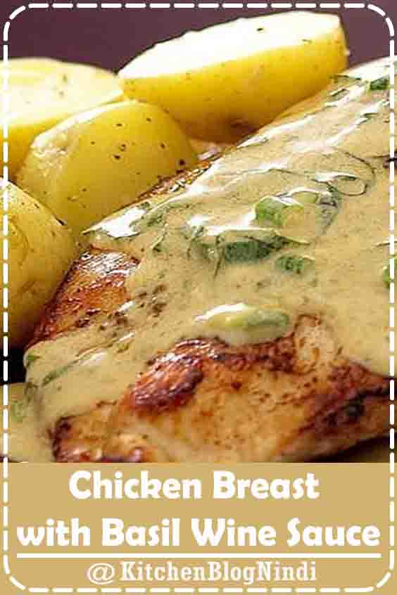 4.8★★★★★ | The best Chicken Breast with Basil Wine Sauce recipe you will ever find. Welcome to RecipesPlus, your premier destination for delicious and dreamy food inspiration. #Chicken #Breast #BasilWine #Sauce