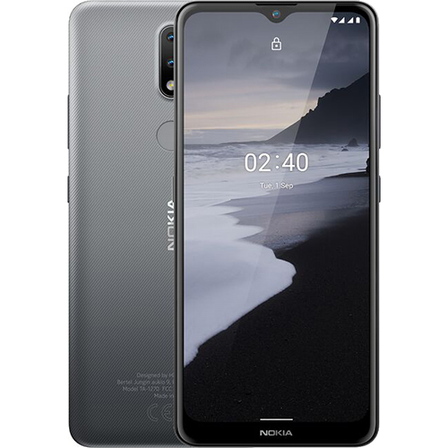 Điện thoại Nokia 2.4 Xám