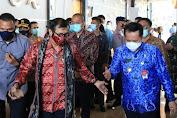 Pjs. Gubernur Agus Fatoni Dampingi Menteri Yasonna H. Laoly Bahas UMKM