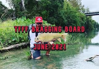 Bragging Board, TFFF Bragging Board, June 2021, Texas Fly Fishing, Fly Fishing Texas, Texas Freshwater Fly Fishing, TFFF