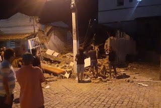 Bando explode agência bancária em Junco do Seridó, na Paraíba