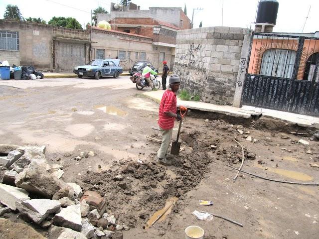 Quejas de vecinos en Manantiales