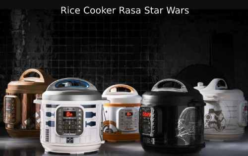 Rice Cooker Rasa Robot Star Wars