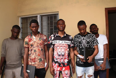 nigeria's yahoo yahoo school busted proprietor and students arrested