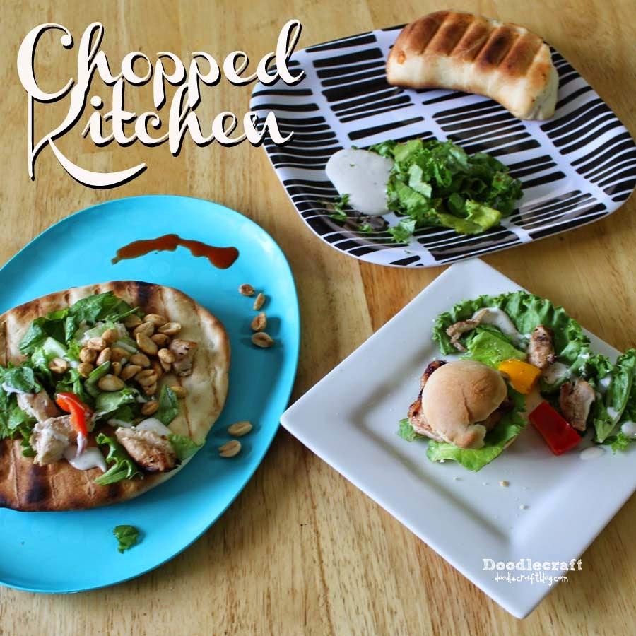 Doodlecraft: Chopped Kitchen At Home Game