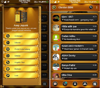 BBM Mod Black Gold Angelic V 3.1 BaseTransparent 3.1.0.13