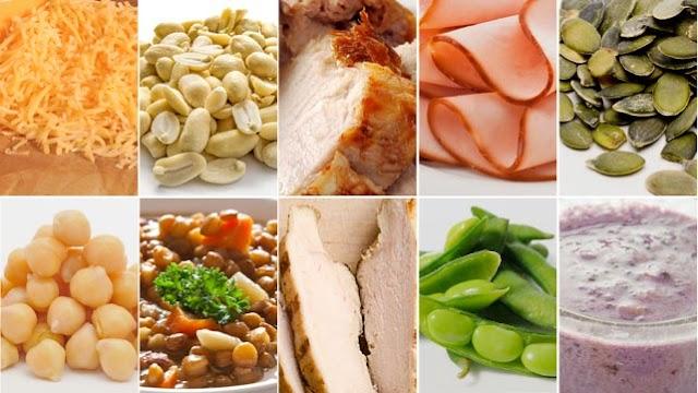 Which foods are high in arginine?