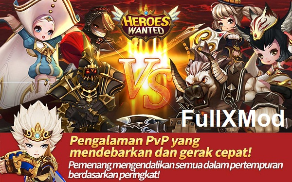 HEROES WANTED Quest RPG Mod APK