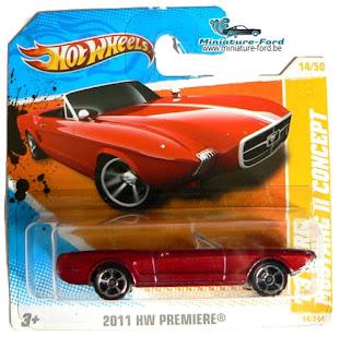 HOT WHEELS, Mustang II Concept