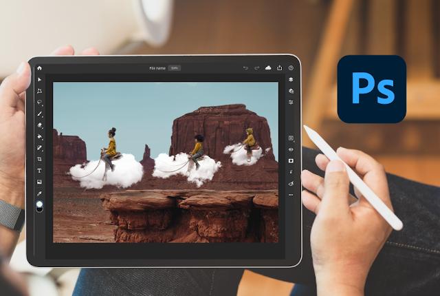 يضيف إصدار iPad من فوتوشوب دعمًا للكاميرا RAW في التحديث الجديد