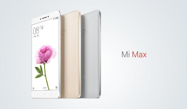 شاومي تطرح هاتفها الجديد Mi Max