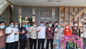 PWI Riau Gelar Silaturahmi dengan Kakan Imigrasi Pekanbaru