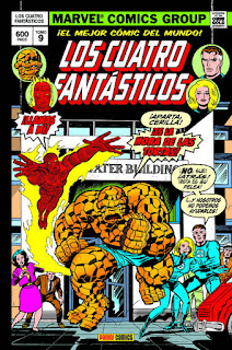 Marvel Gold. Los Cuatro Fantásticos 9