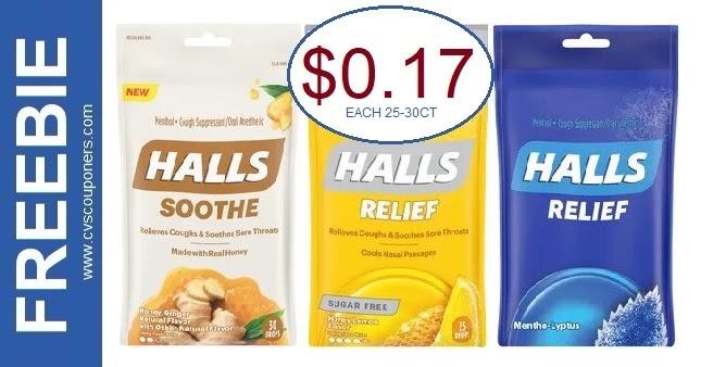 Halls Cough Drops CVS Deal 3-7-3-13