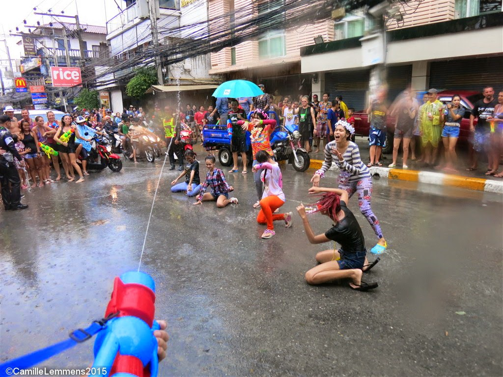 Songkran 2015 on Koh Samui
