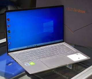 Jual ASUS ZenBook 14 UX433FLC Core i7 Fullset Bekas