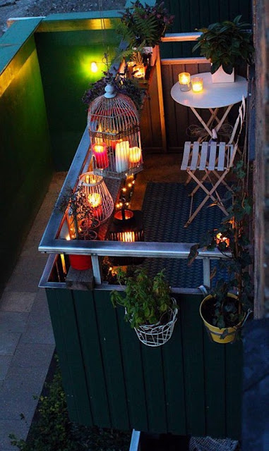 Ideas For Decorating Small Balconies 13