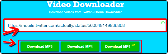 DOWNLOAD ANY VIDEO ONLINE URL