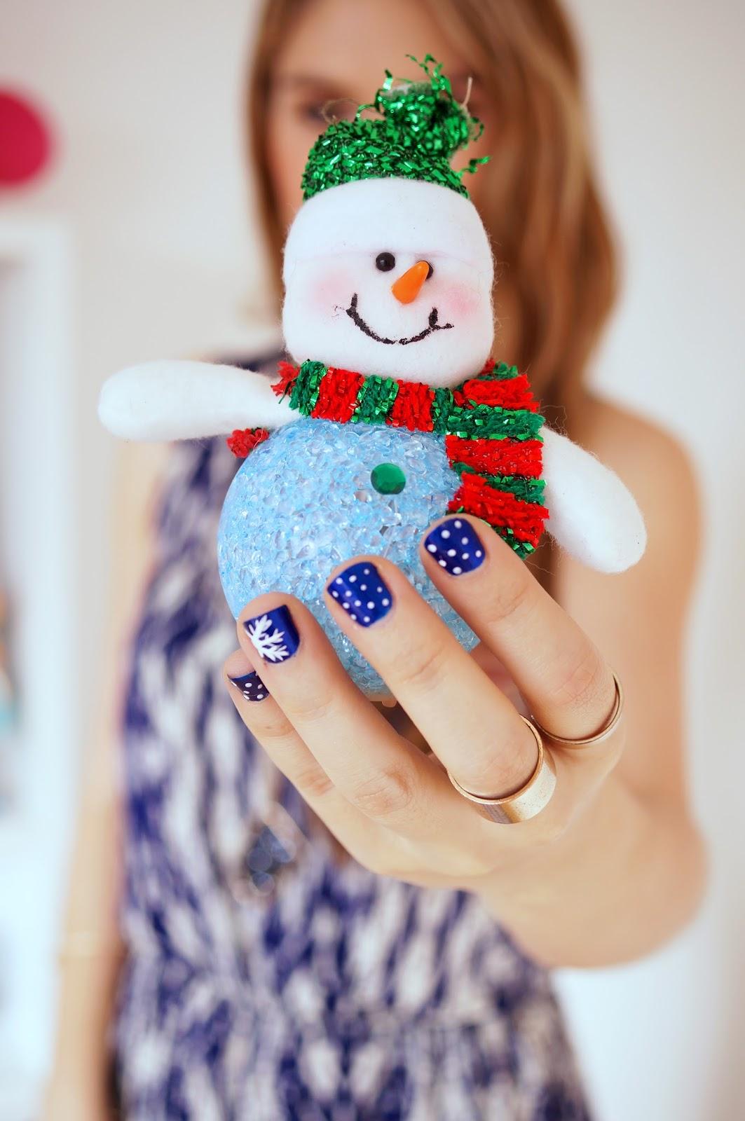 Holiday Nails Tutorial