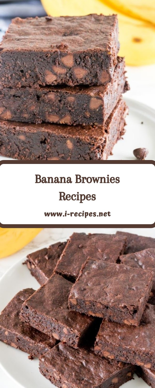 Banana Brownies Recipes