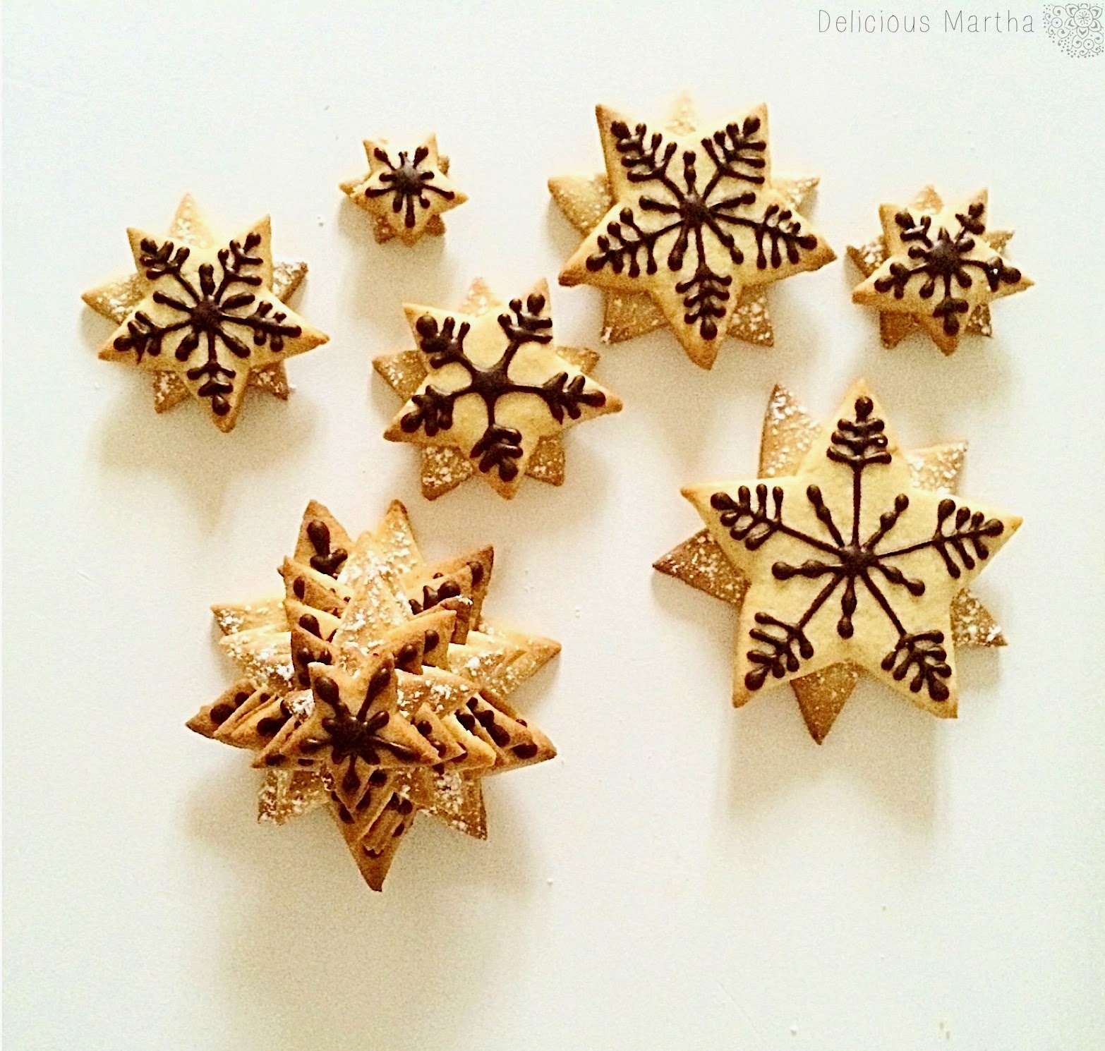 Cookie Christmas Trees (Árboles de galleta)
