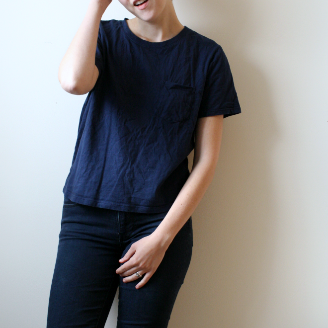 everlane box cut tee review