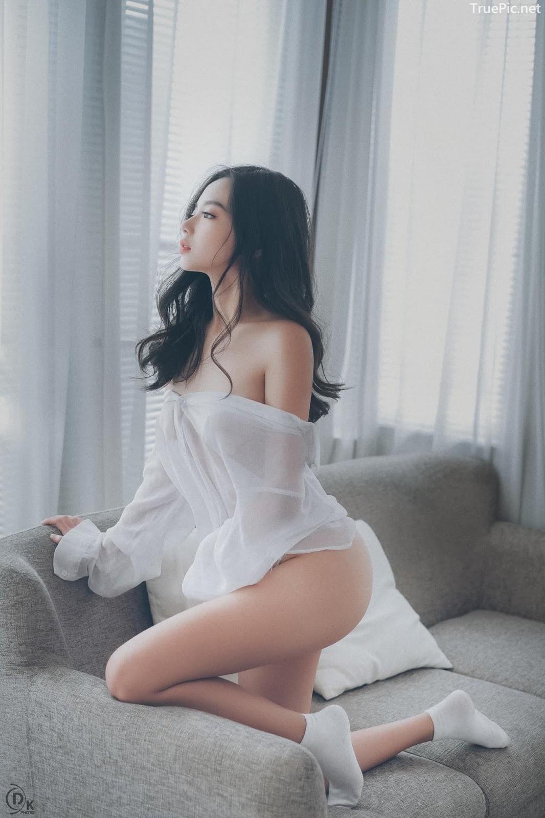 Vietnamese Sexy Model - Vu Ngoc Kim Chi - Beautiful in white - TruePic.net- Picture 15