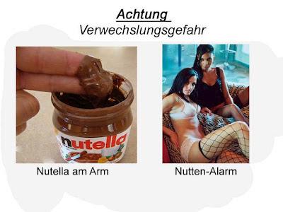 Lustige Bilder Nutella Nutten