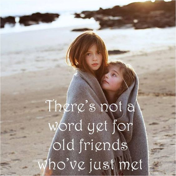 No word to describe an old friend Best Friends Forever Quotes